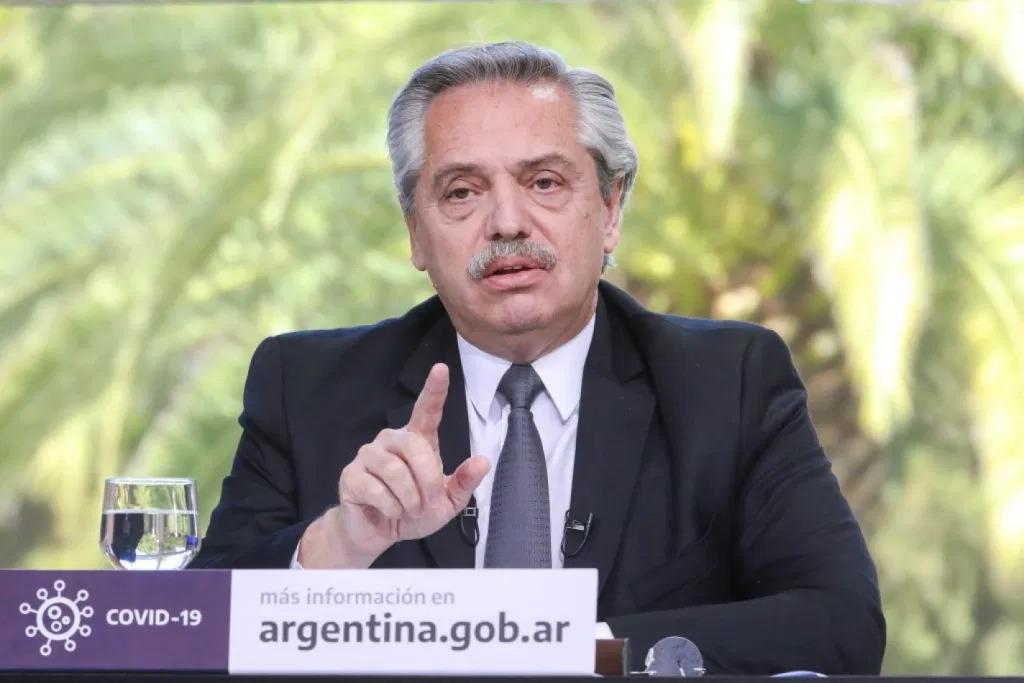 Fernandez, president of Argentina.